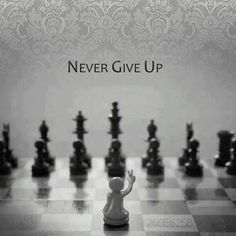 It was like when you make a move in Chess, and just as you take your finger off the piece, you see the mistake you've made, and then there's this panic because you don't know yet the scale of disaster you've left yourself open to; When you see a good move..., Look for a better one...