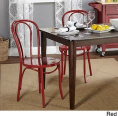 French cafe style dining chairs