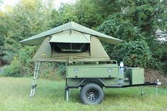Camping/ Military Trailer