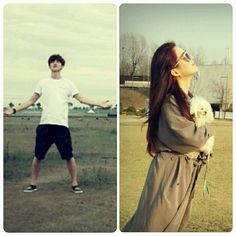 Enjoying the fresh air.. #seohyun #luhan #seohan