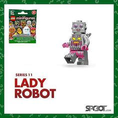 Lego Minifigures Series 11: -Lady Robot