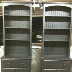 Combo bookshelf & nightstand. $250 Hubby needs to make me one!!! Or two =D