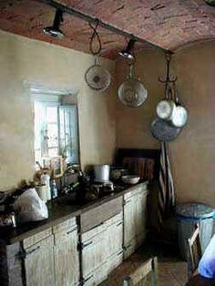 I'd do dishes by hand to cook in here