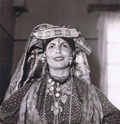 Moroccan Jewish woman, Erfoud, Morocco 1950