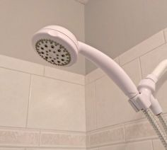 4 awesome bathroom cleaning tricks, bathroom ideas, cleaning tips, go green, Mineral buildup on shower heads can disrupt flow