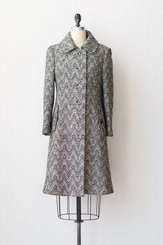 vintage 1960s coat   60s wool coat   Laramie Range Coat