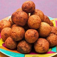 Potato-Cheese Fritters - Bocaditos de Papa - Kosher Recipes & Cooking -- had for pseudo Passover + delicious as is! Passover Recipes, Gluten Free Recipes, Jewish Recipes, Strawberry Sherbet Recipe, Kosher Recipes, Cooking Recipes, Cooking Ideas, Potato Patties, Spiced Pecans