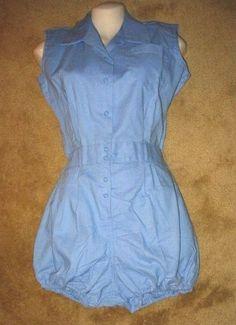 1960 girl's gym uniform