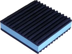2 Pack Anti Vibration Pads Isolation Dampener Industrial Heavy Duty 4x4x7//8 Blue