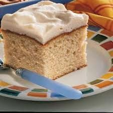Rootbeer float cake, with whipped rootbeer frosting. Really good!