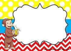 Free FREE Curious George the Monkey Invitation Templates Curious George Invitations, Monkey Invitations, Curious George Party, Curious George Birthday, Free Invitation Templates, Free Printable Birthday Invitations, Curious George Coloring Pages, It's Your Birthday, Birthday Ideas