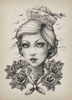 Katalin Berinkey, Tattoo art T-shirt