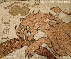 Basilica, Otranto, Puglia, Italia  www.dispensadeitipici.it not only wine & food iShop  #ddt #iShop #otranto #lecce #basilica #cattedrale #cathedral #mosaic #mosaico
