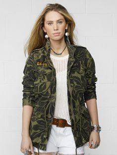 Floral Field Jacket - Jackets  Jackets & Outerwear - RalphLauren.com