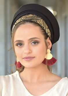 """🌼🧡🌼For special occasion! This original """"Mitpachat"""" is a scarf tichel- a long rectangle, #Turban #summerstyle #beautiful #beauty #fashion #style #love #jew #jewish #judaic #judaica #judaism #hebrew #hebrewlanguge #ashkenazi #religion #religious #israel #israeli #tichel #tichels #mitpachat #headcovering #modesty #beautiful #jewishwomen #mitpachatrap #haircovering Judaism, New Pins, Turban, Modest Fashion, Israel, Choices, Special Occasion, Religion, Hats"""