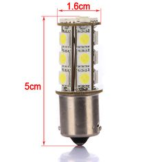 a6ed0fdcf2 Car 1156 BA15S 18 SMD 5050 LED Tail Brake Interior Light Bulb 12V