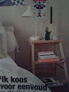 Slim nachtkastje! (uit Flair)