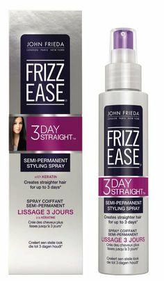 John Frieda Frizz Ease 3 Day Straight Semi Permanent Styling Spray #J'Adore VoxBox