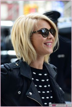 Actress Julianne Hough returns to her hotel