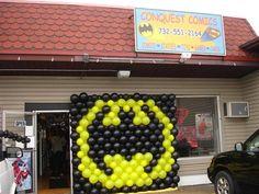 Batman Balloon display