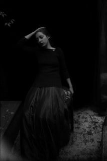 """Shut your eyes and see."" ~ James Joyce (1882-1941) / Photo: Lady of silence by Katia Chausheva"