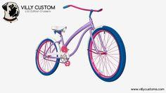 Check out Jessica's new cruiser design! www.villycustoms.com