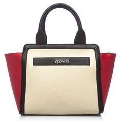 Kenneth Cole Reaction Jigsaw Mid-size Shopper Bag | Overstock™ Shopping - Great Deals on Kenneth Cole Reaction Tote Bags