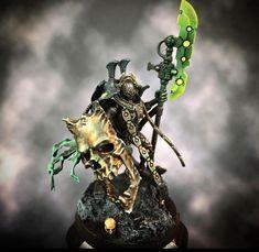 Warhammer 40k Necrons, Warhammer 40k Miniatures, Statues, Tyranids, Mini Paintings, Miniture Things, Magic The Gathering, Fantasy, Gw