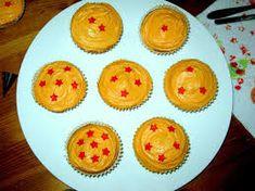 Dragon Ball Z Cupcakes.