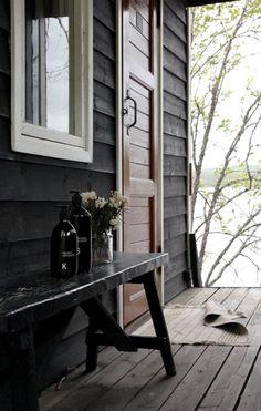 Cabin Interiors, Scandinavian Style, Beach House, Villa, Studio, Cottages, Summer, Inspiration, Dreams
