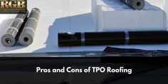 Is a TPO roof system the best option for your property? Get answers about the life expectancy, installation, cost, and problems associated with TPO roofing systems. Rubber Roofing Material, Roofing Materials, Flat Roof Systems, Roofing Systems, Drip Edge, Commercial Roofing, Roof Installation, Roofing Contractors, Roof Deck