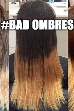 """The Internet Turned Donald Trump's """"Bad Hombres"""" Comment Into a bad ombre hair - Ombre Hair Hair Meme, Hair Humor, Funny Hair, Donald Trump Bad, Bad Highlights, Hair Fails, Trump Hair, Bad Hair, Ombre Hair"""