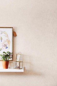 collection Sherwood - papier peint vinyle sur intissé uni beige - référence 67921008 - facile à poser