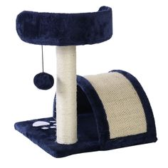 Deluxe Cat Tree 18' Level Condo Furniture Pet Play House Scratching Post Kittens(Gray):New -- Check this awesome image  : Cat condo
