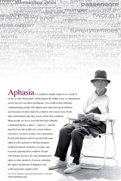 Aphasia - quality of life.
