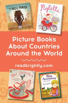 If you've ever dreamed of strolling through the winding streets of Europe, experiencing the vastness of Asia, or learning about the history of Africa, dive into these marvelous picture books about countries around the world. Countries Around The World, Around The Worlds, Patricia Polacco, Ludwig Bemelmans, Red Butterfly, Play Soccer, Save The Day, Going Fishing, S Stories