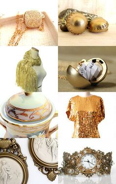 22 Karet Gold by Carol Schmauder on Etsy--Pinned with TreasuryPin.com
