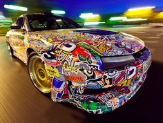 NISSAN SILVA 200SX DRIFT CAR by KONSTANTIN SHALEV, via Behance