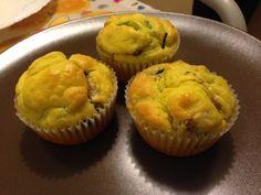 Ricetta Antipasto : Muffin alle verdure con ricotta da Pelledipollo