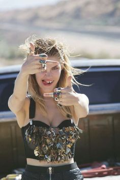The Oyster Magazine Ashley Smith Editorial is a Rogue Road Trip #photoshoots #fashion trendhunter.com