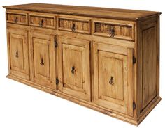 Rustic Pine Collection - XL Classic Sideboard - COM06