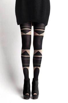 These tights are amazing. Purchase them from Patternity here.