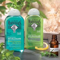 Check out Le Petit Marseillais Anti-Dandruff shampoos here
