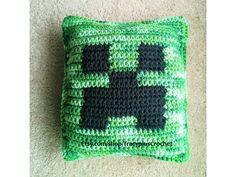 Crochet Gamer pillow. Small gaming pillow. Handmade to order. by TracyplusCrochet on Etsy