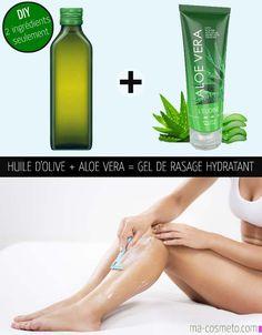 faire soi-même un gel de rasage hydratant naturel