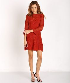 40a2fbda00bae Free People Rosalind Swit Dress Burnt Orange OB432821 - Free Shipping at Largo  Drive Burn Dressing