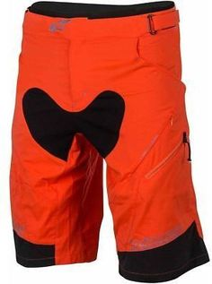 Alpinestars Drop 2 Shorts - Men's Bright Orange Acid Yellow 34