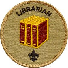 Most Boy Scout troops keep a library of merit badge pamphlets and other resources. The Librarian is a youth member of the troop who takes care of this troop literature. Librarian Style, Sexy Librarian, Library Quotes, Library Books, Library Week, Library Ideas, Boy Scout Troop, Boy Scouts, Library Science
