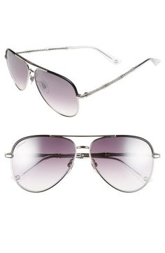 Gucci 59mm Aviator Sunglasses available at #Nordstrom
