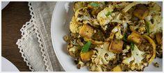 Recipes - Wildwood roasted cauliflower, tofu, and lemon